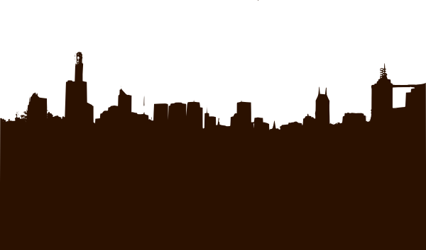 City silhouette png. Basic clip art at