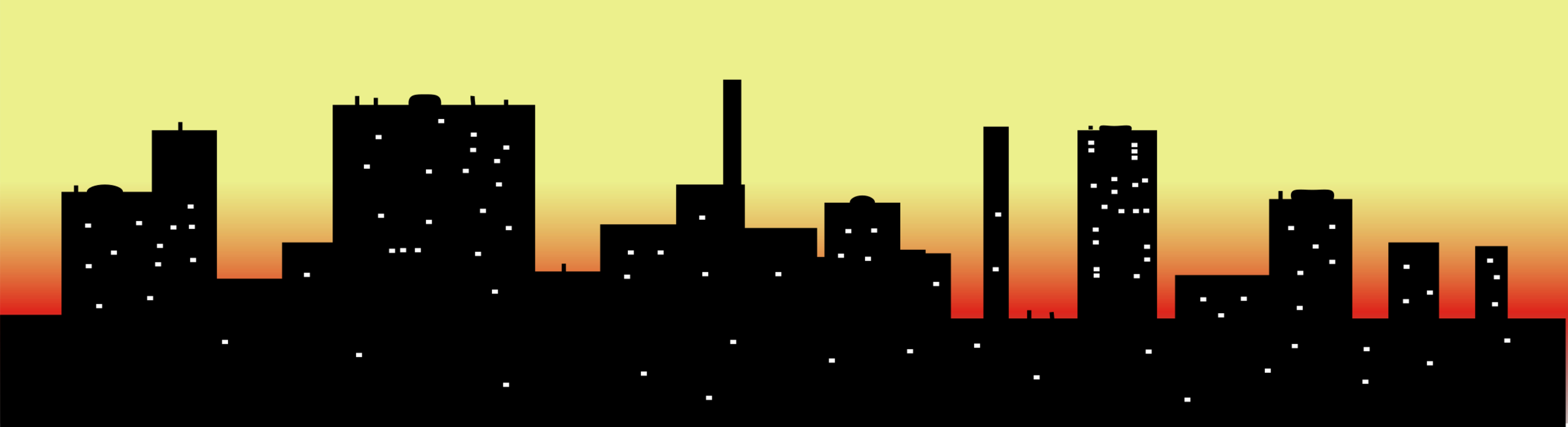 Seattle vector city scape. Skyline cityscape drawing free