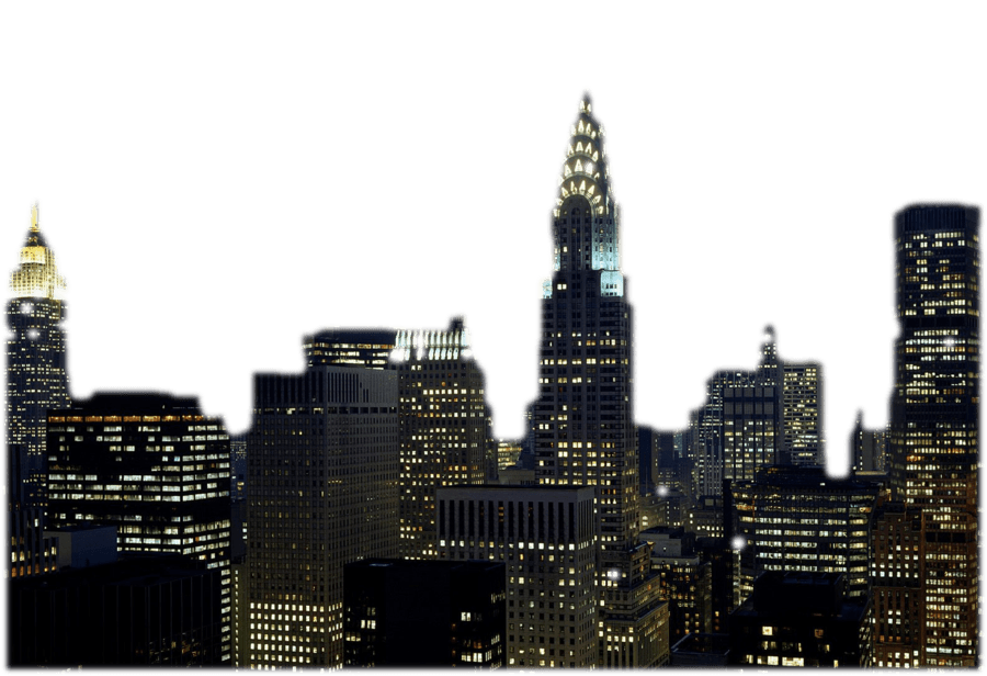 Nyc png stickpng download. Skyline transparent graphic