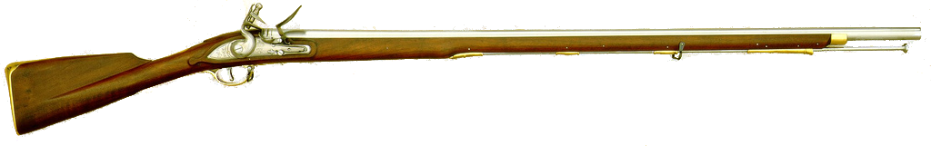 Musket vector 18th century. British military rifles wiki