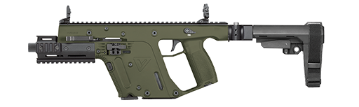 Civilian vector 10mm. Kriss usa home sdp