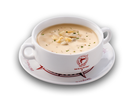 Chowder transparent. Of the day soups