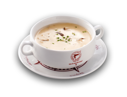 Clam chowder soup png. Of the day soups