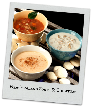 Clam chowder soup png. Best new england shipped