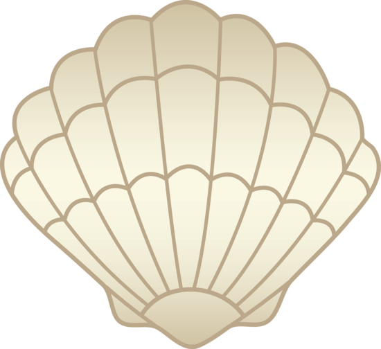 Clam clipart clamshell. Shell