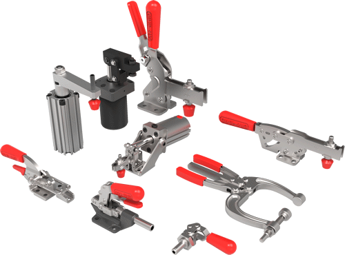 drawing clamps toggle clamp