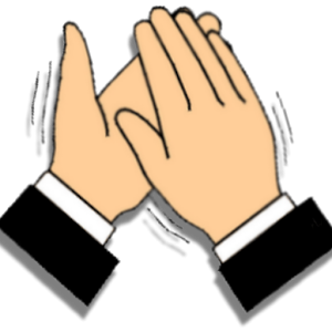 Clap clipart. Free clapping hands cliparts