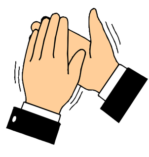Clap clipart child. Imitating clapping patterns