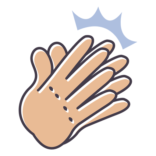 Clapping hands png. Clap hand transparent svg