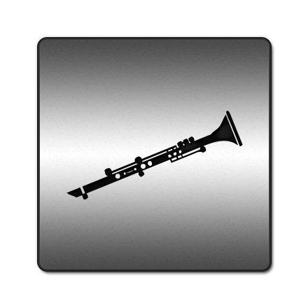 Transparent clarinet vector. Free icon download png
