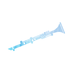 Clarinet vector outline. Png free icons and
