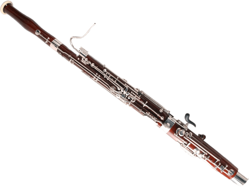 Clarinet vector transparent background. Bassoon png stickpng