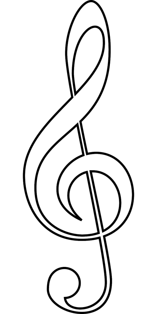 Clarinet vector treble clef. Free photos search download