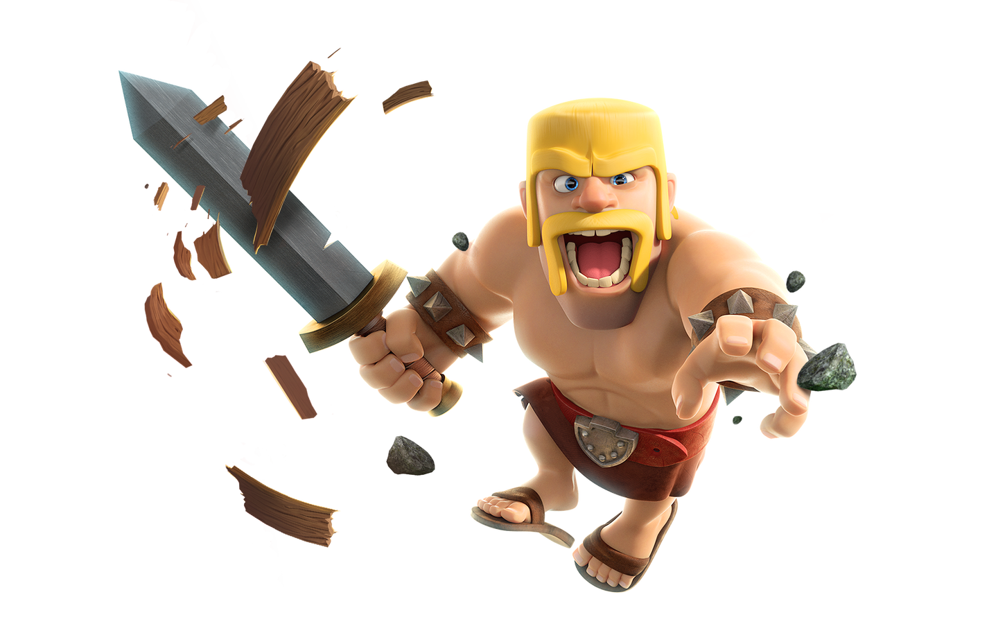 Clash goblin png. Of clans royale barbarian