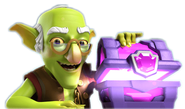 Clash goblin png. Royale shop card price