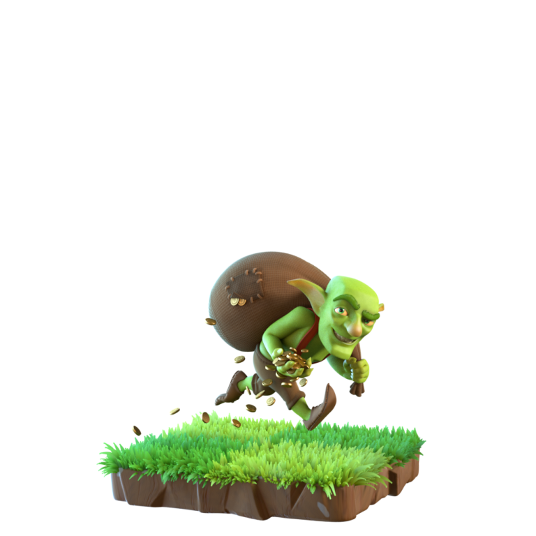 Clash goblin png. New troop art of