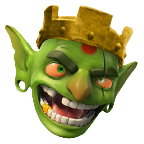 Clash goblin png. Of clans green game