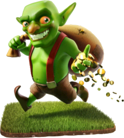 Clash goblin png. Of clans wiki com