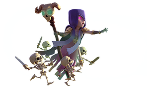 Clash royale witch png. Of clans image related