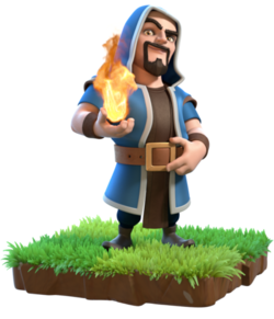 Clash of clans wizard png. Wiki fandom powered by