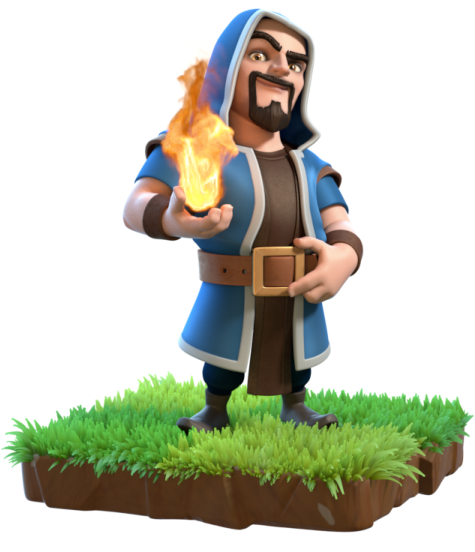 Clash of clans wizard png. Image info wiki fandom