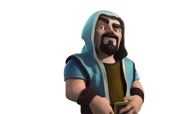 Clash of clans wizard png. Render by aaa xxx