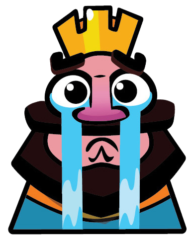 Transparent emotes clash royale. Image sad face png