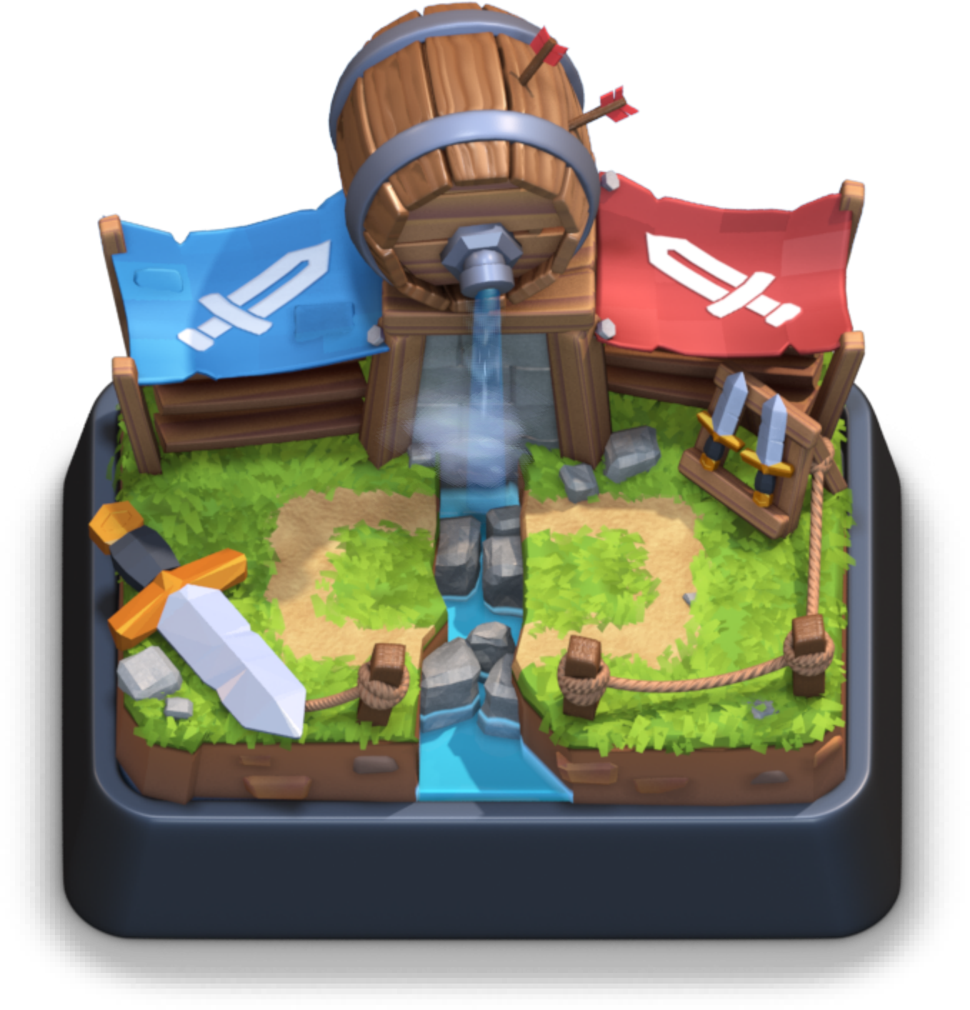Clash royale cannon png. User blog type sparky