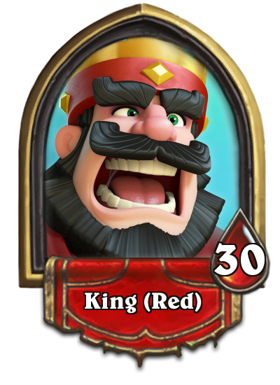 King clash royale png. Cards in hearthstone album