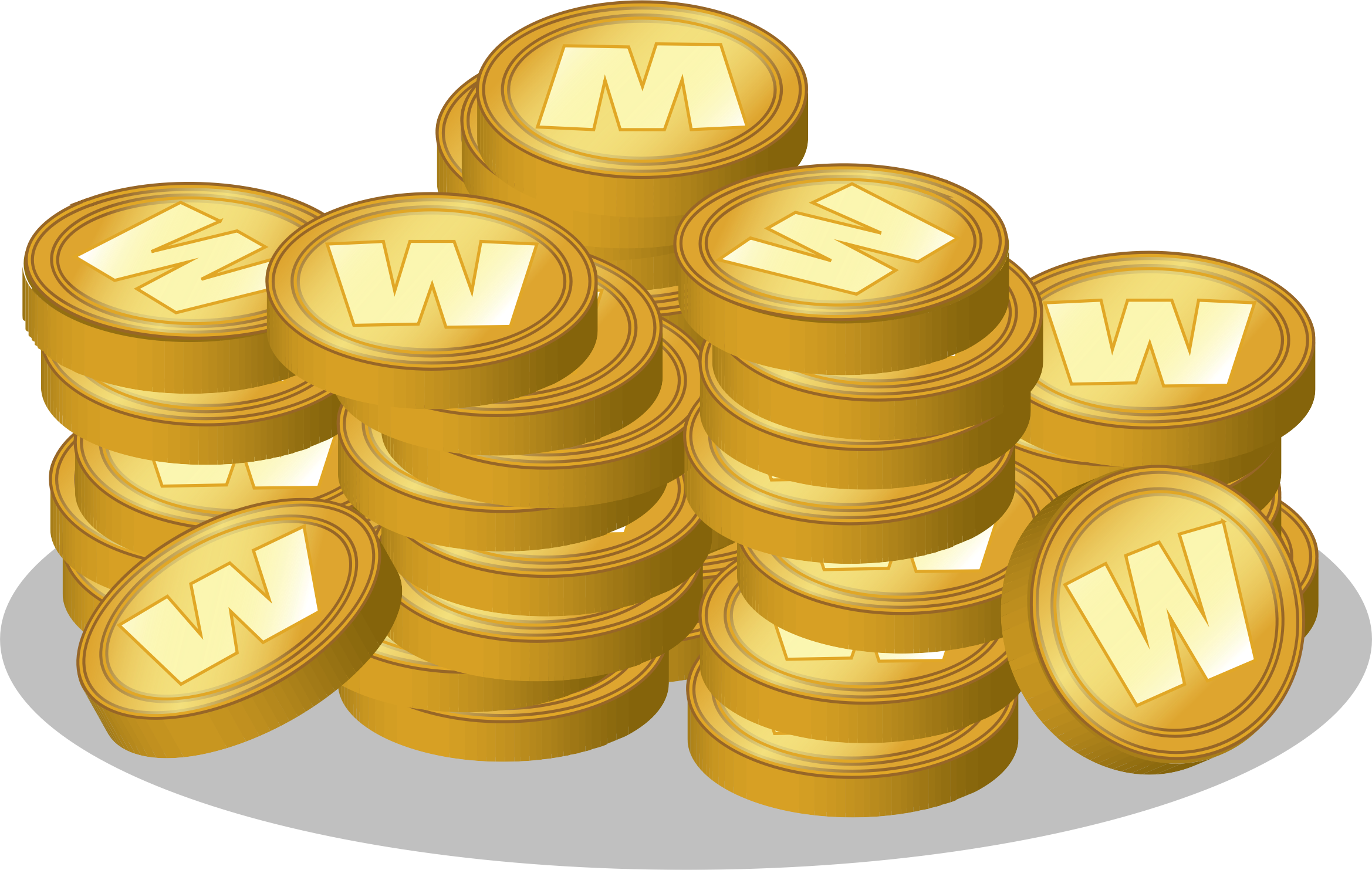 Clash royale coins png. Gold coin clip art
