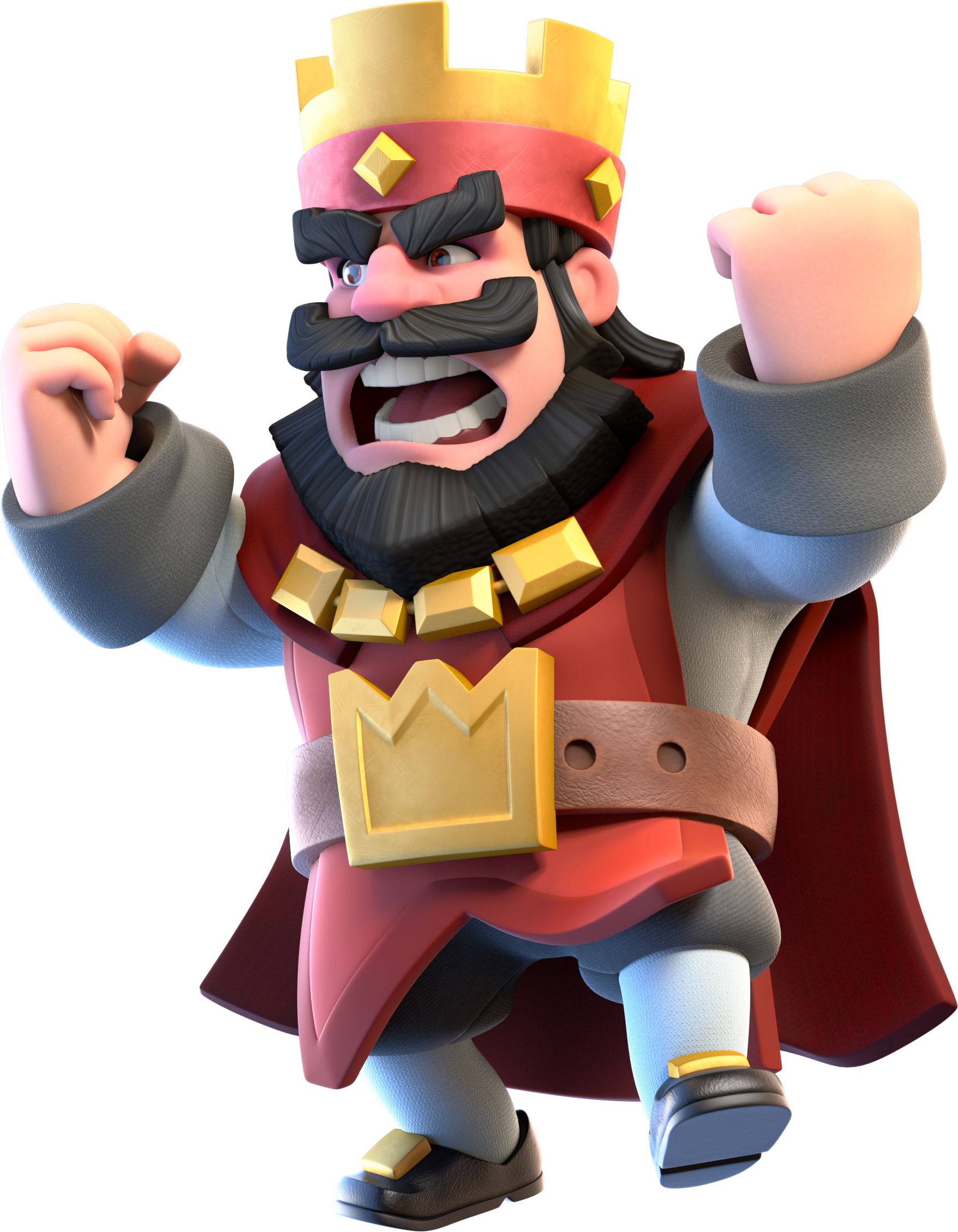 Clash royale king png. Image red angry wiki