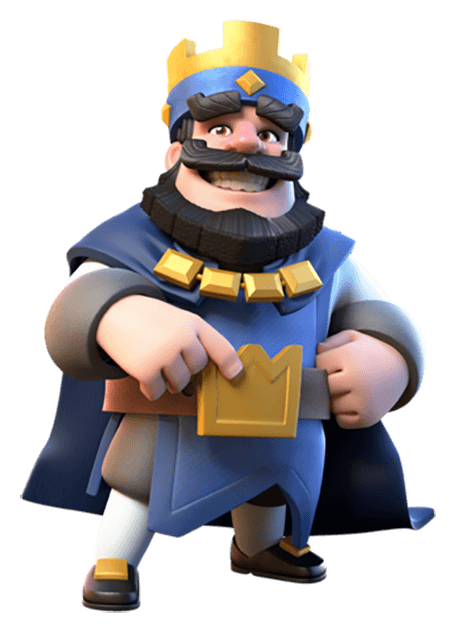 King clash royale png. Re image