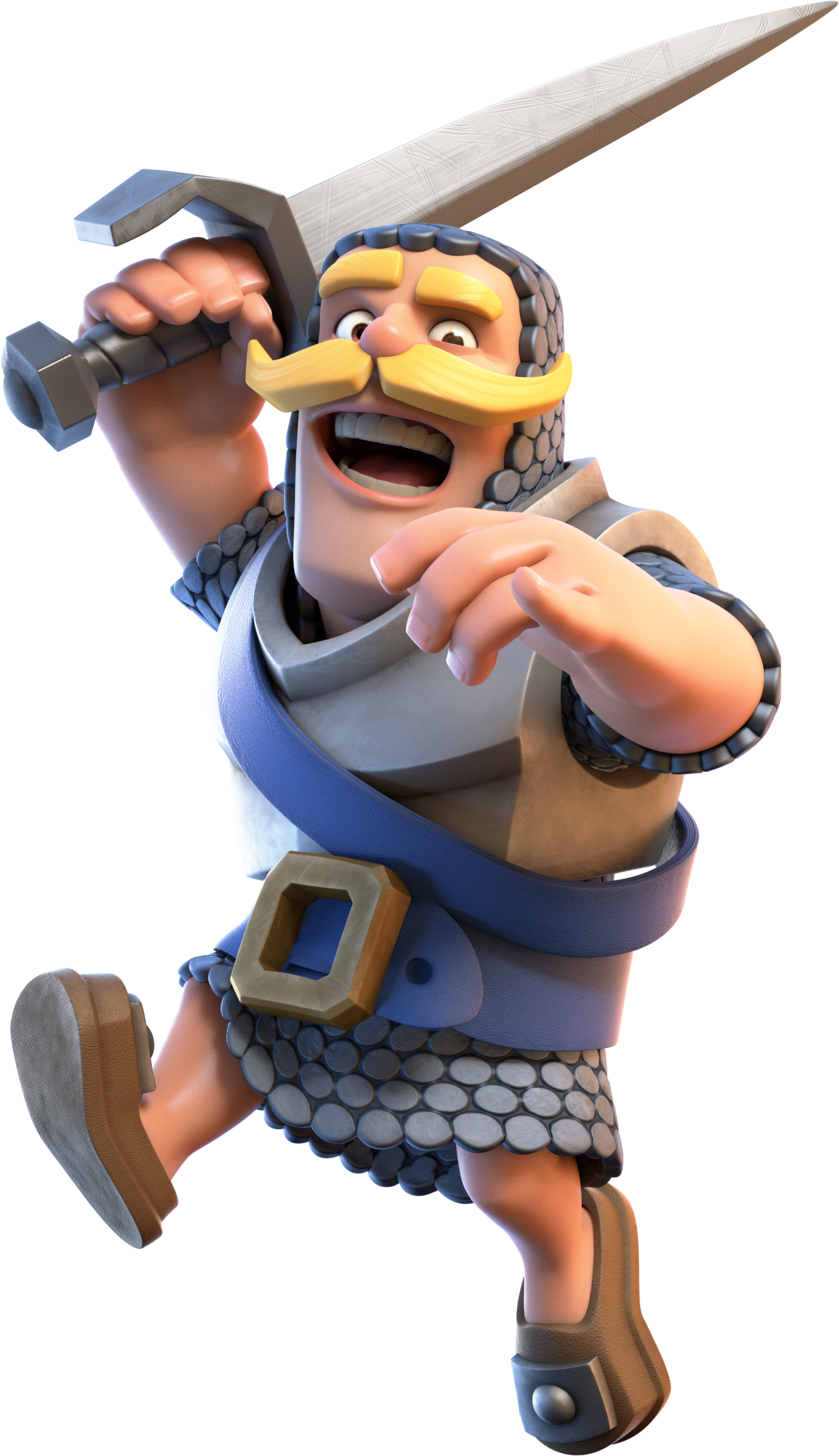 Clash Royale Knight Transparent Png Clipart Free Download