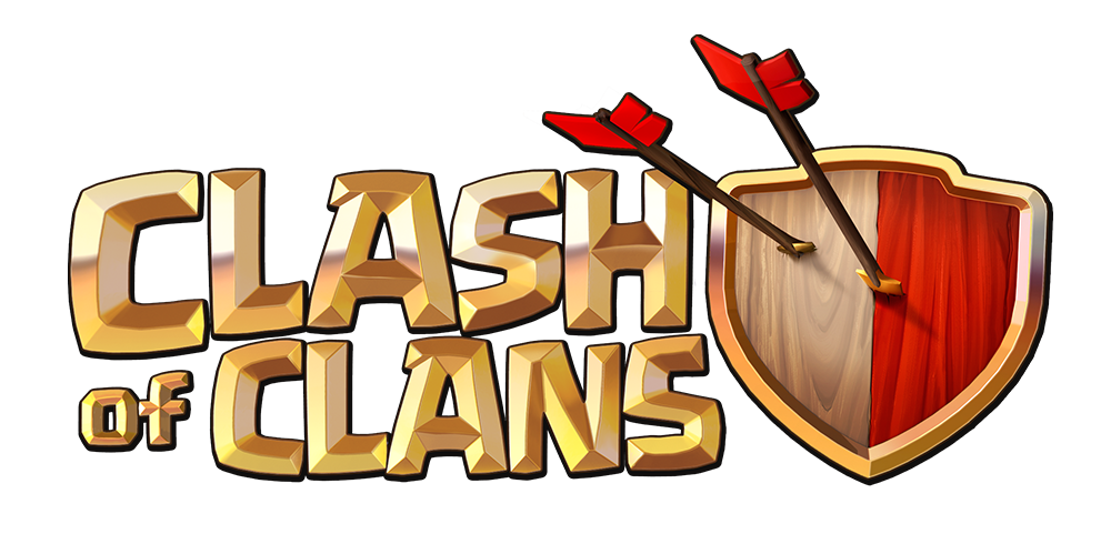 Image clashofclanslogo wiki fandom. Clash royale the log png jpg black and white download