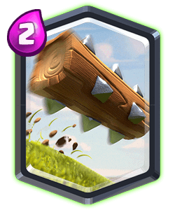 Legendary card . Clash royale the log png svg freeuse download