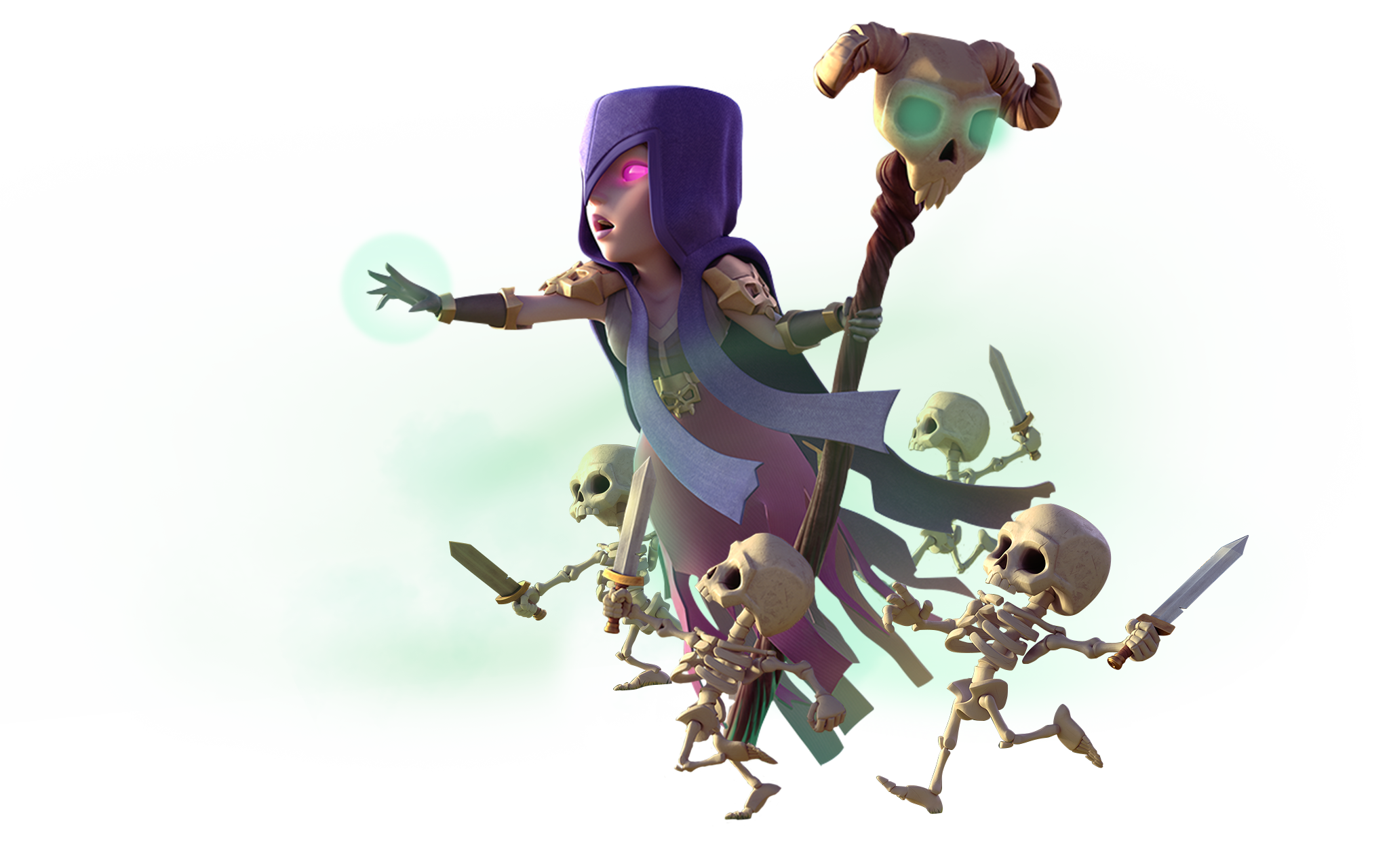 Clash royale witch png. Of clans bos