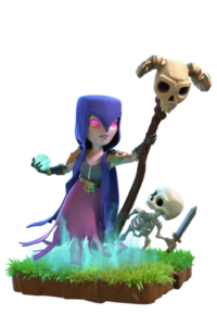 Bruja wiki of clans. Clash royale witch png clip black and white library