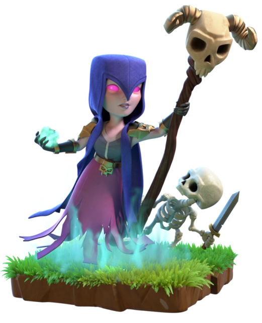 Image info of clans. Clash royale witch png image transparent