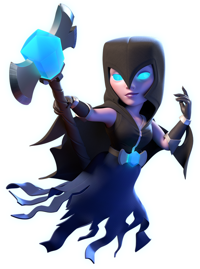 Clash royale witch png. Download night x