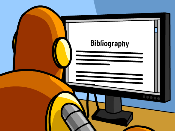 Class clipart bibliography. Citing sources lesson plans