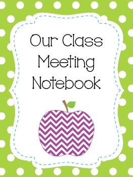 Class clipart class meeting. Notebook packet with conflict