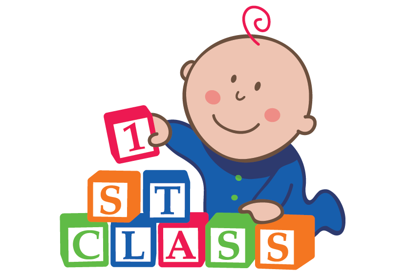 Nursery drawing family. St class daycare