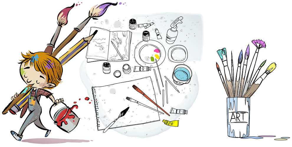 Anna art academy watercolor. Class drawing shadow vector royalty free download