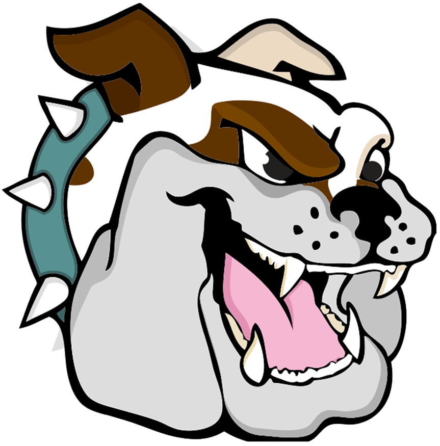 Mascot drawing. Brown middle homepage school
