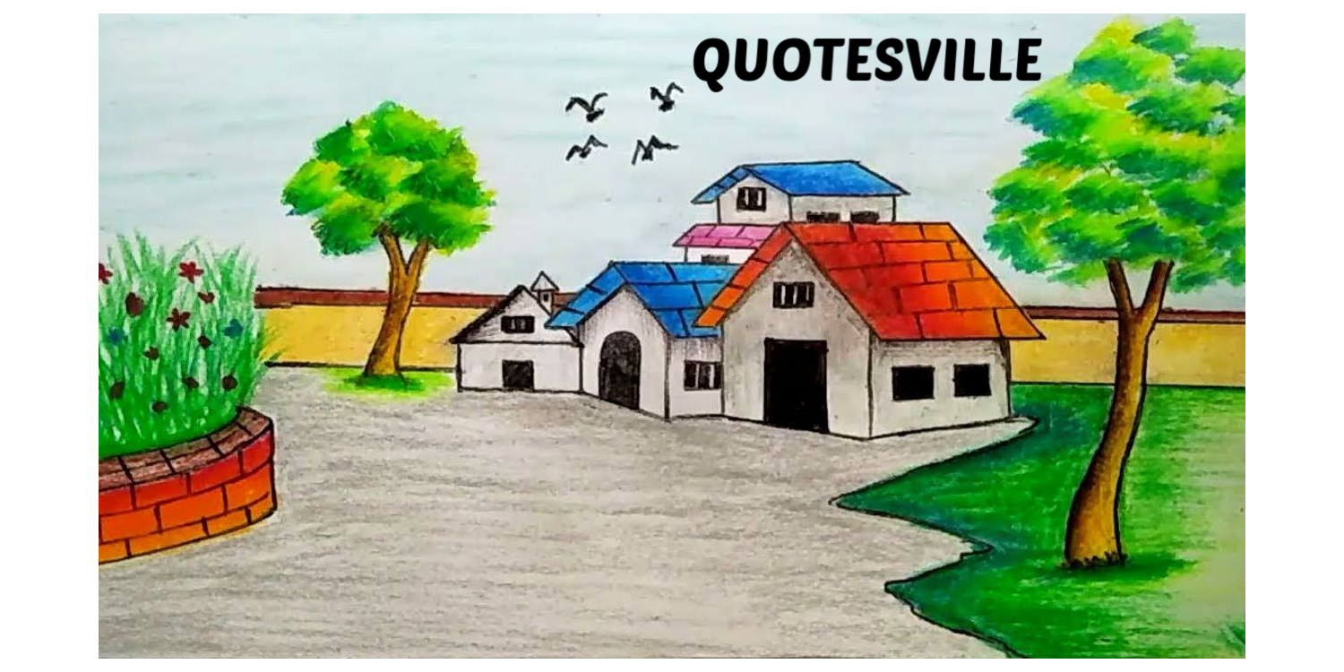 Drawing paint menggambar. The village called quotesville