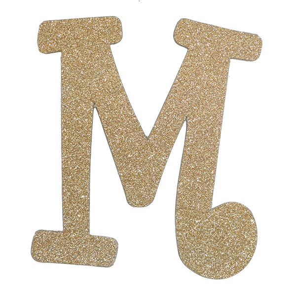 Class of 2017 foil letters png. Diamond letter m gold