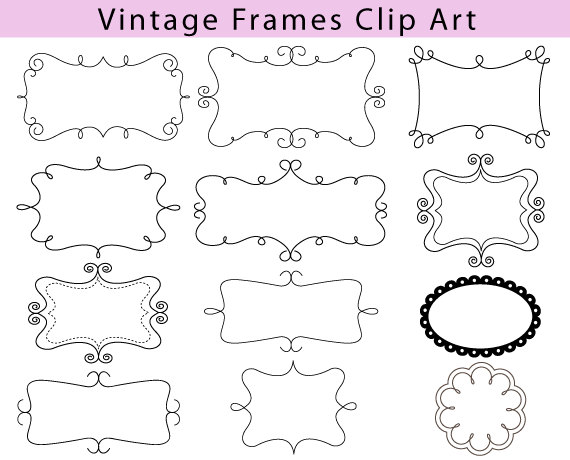 Classic clipart photo frame. Panda free images