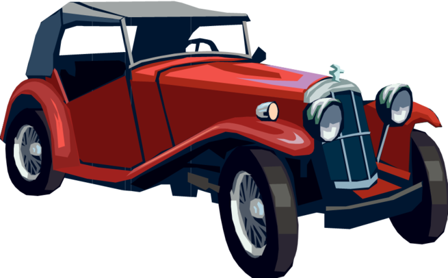 Classic clipart red classic car. At getdrawings com free