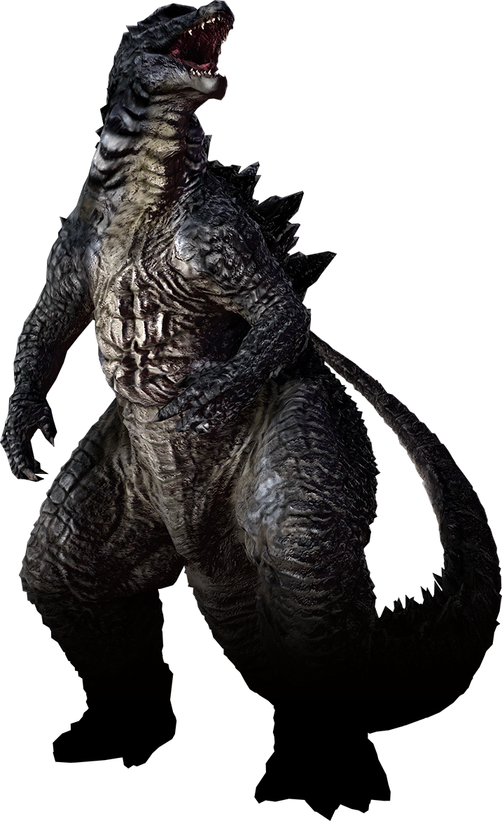 Classic godzilla png. The video game legendary