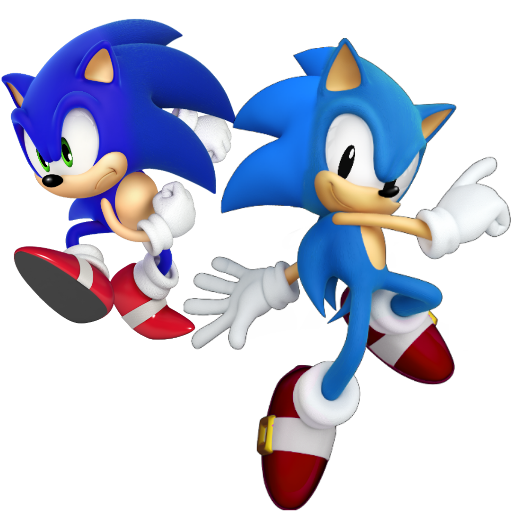 Lighter clip modern. And classic sonic but